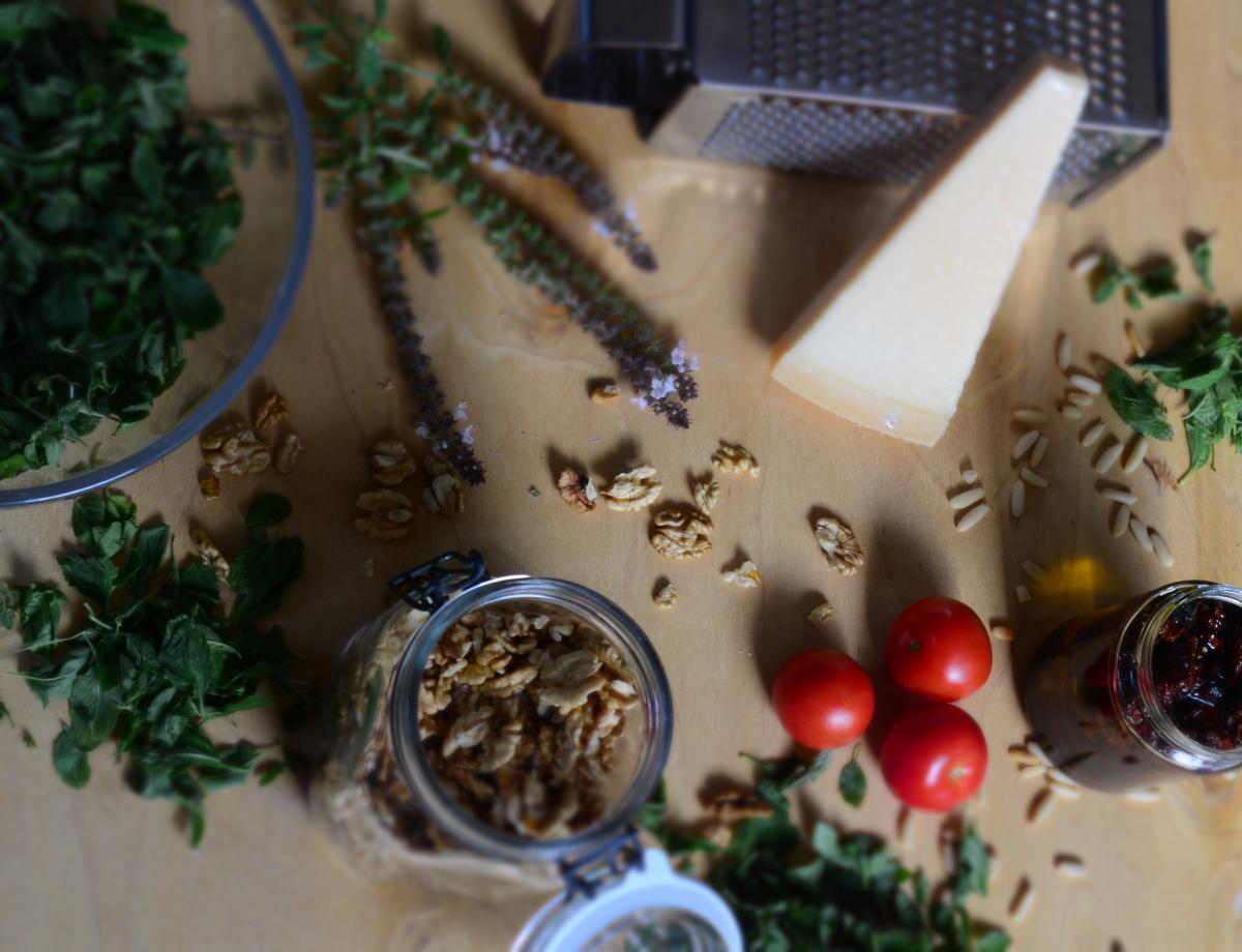 pflanzen selbst ziehen ye olde kitchen food und. Black Bedroom Furniture Sets. Home Design Ideas